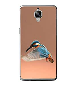 Kingfisher 2D Hard Polycarbonate Designer Back Case Cover for OnePlus 3 :: OnePlus Three
