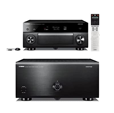 Yamaha CX-A5000 11.2 Channel AV Pre-Amplifier and MX-A5000 11 Channel Power Amplifier Bundle from YAMAHA