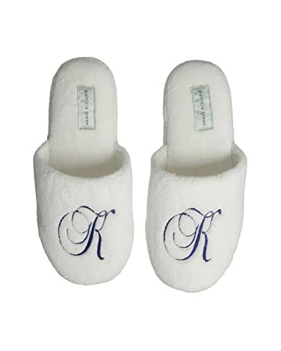 Patricia Green Women's Cozy Monogram K Slipper