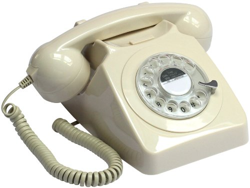 :PROTELX, Gpo 1970S Retro Rotary Telephone - Ivory Colour Reviews