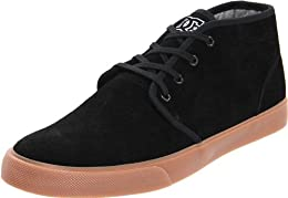 DC Men s Studio Mid Lace Up Fashion Sneaker Blackgum 13 DM US