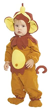 Rubie's Costume EZ-On Romper Costume, Monkey See Monkey Do, 6-12 Months