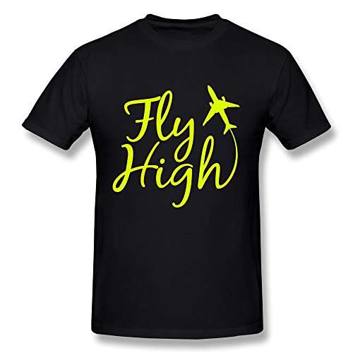 Ptcy Boys' Tee Fly High Us Size M Black front-561182