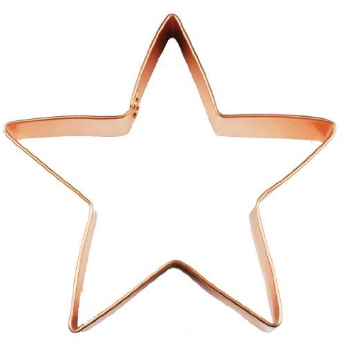 Fox Run Brands 2134 Copper Star Cookie Cutter, 5-Inch (Copper Cookie Cutters compare prices)