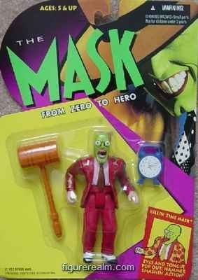 "5"" Jim Carrey As the Killin' Time Mask Action Figure - The Mask Movie: From Zero to Hero - 1"