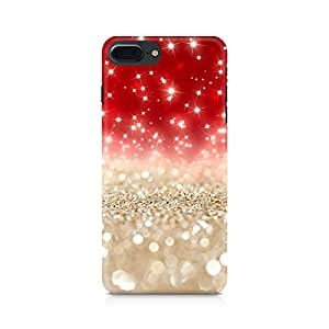 NXT GEN Falling Sparkles Premium Printed Mobile Back Case For Apple iPhone 7 Plus