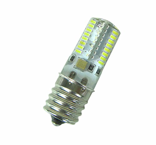 New 1X E17 White Bulb 64 3014 Smd Led Lamp 110~120V 3W Silicone Crystal Small