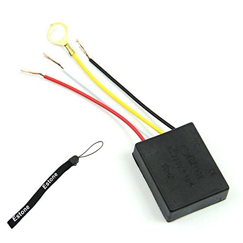 Estone Table Light Parts On/Off 1 Way Touch Control Sensor Bulb Lamp Switch For 220V Ac front-522151