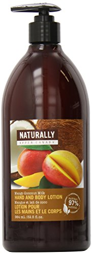 Upper Canada Soap Naturally Hand and Body Lotion, Mango Coconut Milk, 32.5 Fluid Ounce (Naturally Upper Canada Lotion compare prices)