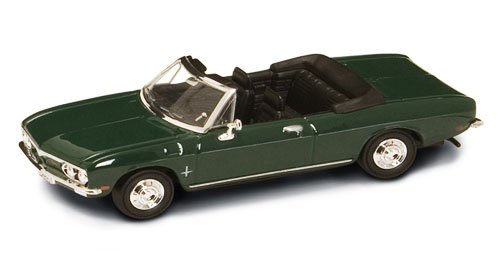 Yatming 94241 1969 Chevrolet Corvair Monza Convertible 1:43 Scale Green