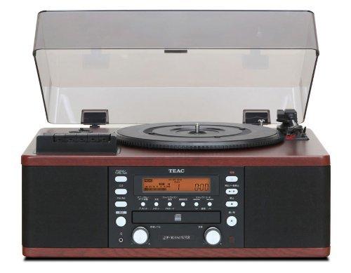 TEAC ターンテーブル/カセットプレーヤー付CDレコーダー LP-R550USB-WA(ウォルナット)