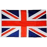 BestMall- Drapeaux de Royaume-Un UK anglais 90cm x 150cm (3FT X 5FT) avec fil