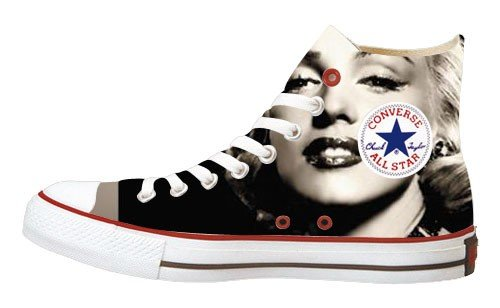 Converse all star chaussures marilyn monroe boutique marilyn monroe - Chaussure marilyn monroe ...