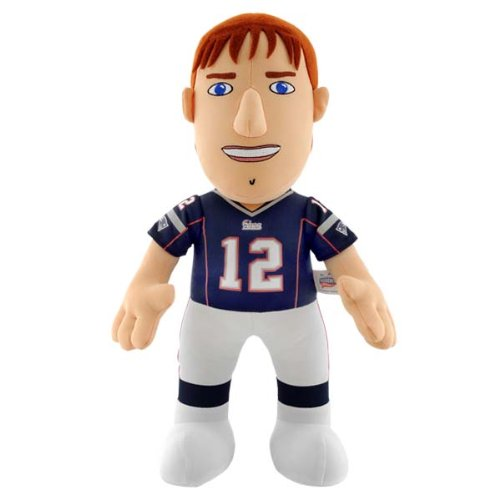 NFL New England Patriots Tom Brady 14-Inch Plush Doll