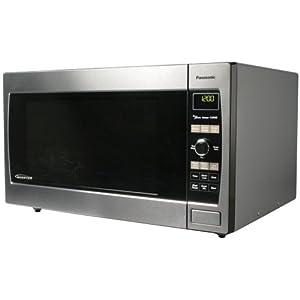Panasonic NN-SD697S, 1.2cuft 1300 Watt Sensor Microwave Oven, Stainless Steel