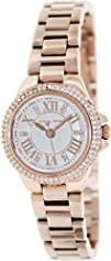 Michael Kors Camille White Dial Rose Gold-tone Ladies Watch