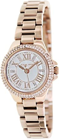 Michael Kors Camille White Dial Rose Gold-tone Ladies Watch MK3253