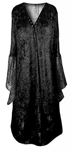 [Sanctuarie Designs Women's Black Gothic Witch Vampiress Dominatrix Plus Size Supersize Halloween Costume] (Dominatrix Halloween Costumes)