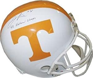 Jamal Lewis Signed Helmet - Tennessee Volunteers Full Size Replica 98 National Champs... by Sports+Memorabilia