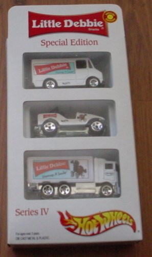 Hot Wheels Little Debbie Snacks Special Edition 3 Pack Jeep HiWay Hauler - 1