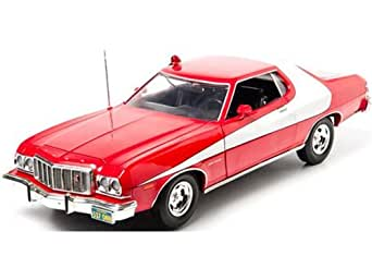 Greenlight 1:18 Starsky and Hutch (1975) 1974 Ford Gran Tarino Die-Cast Vehicle
