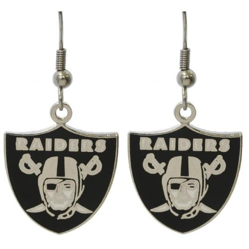 Oakland Raiders - Logo Earrings at Amazon.com