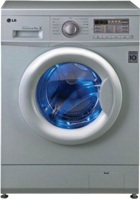 LG FH0B8NDL25 Fully-automatic Front-loading Washing Machine (6 Kg, Luxury Silver)