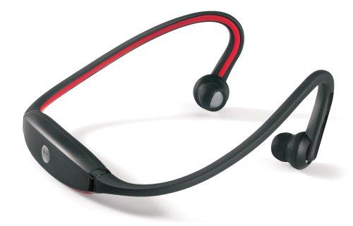 Motorola Motorokr S9 Bluetooth Active Headphones (Red,Black) [Retail Packaging]