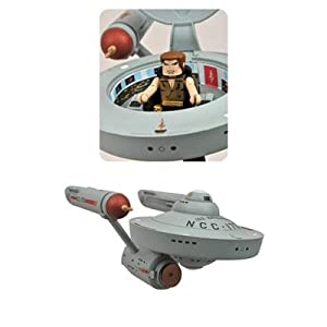 Star Trek EE Entertainment Earth Mirror Mirror Minimates Enterprise Vehicle