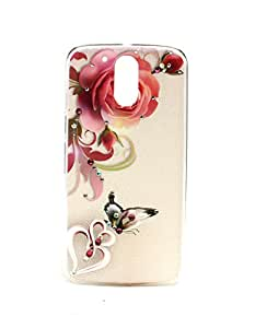 Sharp Icon Fancy Stone Back Case for Motorola Moto G4