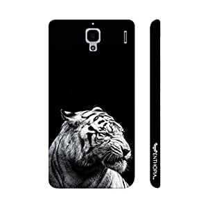 Xiaomi Red Mi 1s Distracted White Tiger designer mobile hard shell case by Enthopia