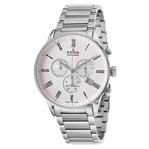 Edox Les Vauberts reloj hombre cronógrafo 10409 3A AR
