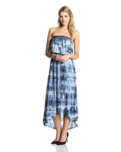 Velvet by Graham & Spencer Women's Tie Dye Strapless Dress