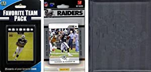 NFL Oakland Raiders Licensed 2012 Score Team Set and Favorite Player Trading Card... by C&I Collectables