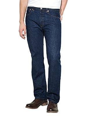Levi's Men's 501 Original Fit Jeans, Blue