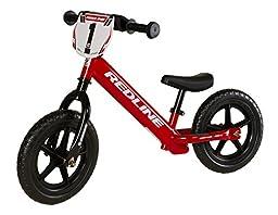 Strider - 12 Sport Balance Bike, Ages 18 Months to 5 Years, Custom Redline Red