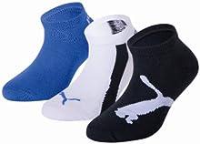 Comprar Puma 204202001 - Calcetines cortos para niños, conjunto de 3