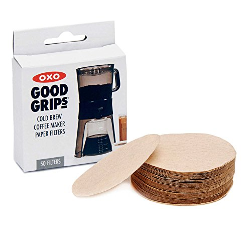 Oxo Coffee Maker Red Light : 2xOXO Good Grips Cold Brew Coffee Maker Replacement Paper Filters, Brown, 50 Per Box Home ...