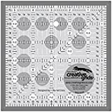 "Creative Grids Quilting Ruler 5 1/2"" Square"