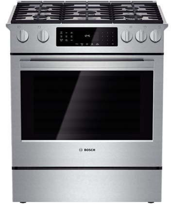 Slide In Gas Ranges With 5 Burners front-477394