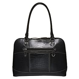 Merona Croco Work Tote - Black