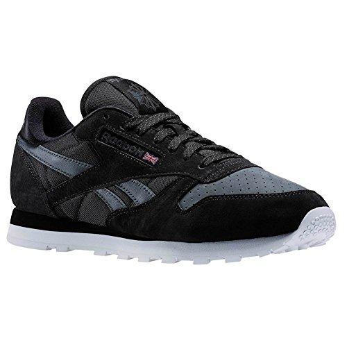 Reebok CL Leather NP, coal/alloy/black/white, 11,5