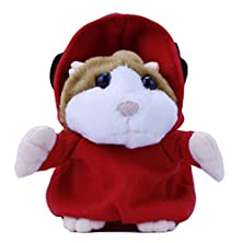 buy Plush Talking Mc Dj Rapper Mimicry Dj Dancing Early Learning Hamster Mouse Vole Headphone Pet Baby Toy Gift