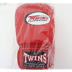 Buy Twins Special Leather Boxing Gloves - BGVL-3 - w  Velcro Wrist Strap by Twins Special