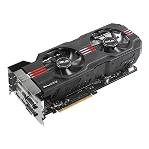 ASUS GeForce GTX 680 DirectCU II OC Edition 2048MB GDDR5, DVI, DVI-D, HDMI, DisplayPort, Overclocked GPU and GPU Tweak Utilities PCI-Express 3.0 Graphics Card Graphics Cards GTX680-DC2O-2GD5