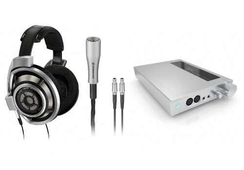 Sennheiser Hd800, Hdvd800 And Ch800S Headphone, Amplifier, And Cable Package