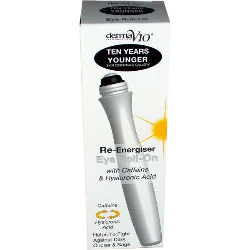 Derma V10 Ten Years Younger Caffeine Eye Roll On