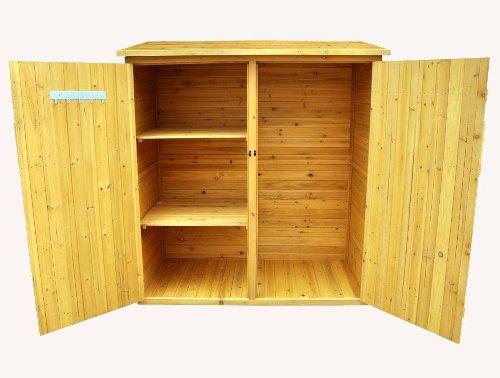 Leisure season medium storage shed solid wood decay for Garden shed qatar