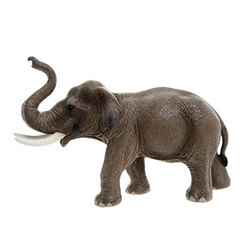 Schleich Asian Male Elephant Toy Figure