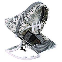 Hoohobbers Rocking Infant Seat Etoile Black by Hoohobbers
